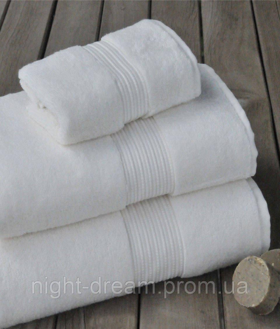 Махровое полотенце 50х90 CASUAL AVENUE Chicago White из гидрохлопка