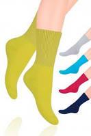 Женские полумахровые носки  Steven с широкой резинкой