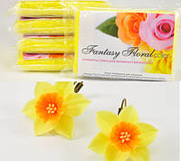 Холодный фарфор Fantasy Floral для реалистичных цветов,цвет ярко-желтый