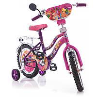 Мустанг Винкс 16  дюймов для девочки двухколесный велосипед