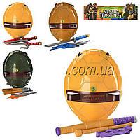 Набор игрушечного оружия Черепашки Ниндзя: оружие героя, маска, щит