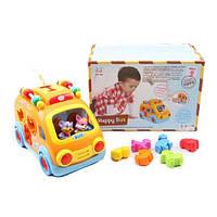 Музыкальная игрушка Автобус-сортер 988