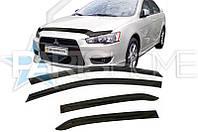 Ветровики Дефлекторы на Окна Mitsubishi Lancer X