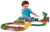 Моторизованная железная дорога с говорящим паровозиком Томас и друзья