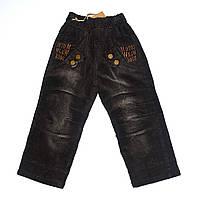 Вельветовые брюки на флисе. Мальчик. 1-5лет