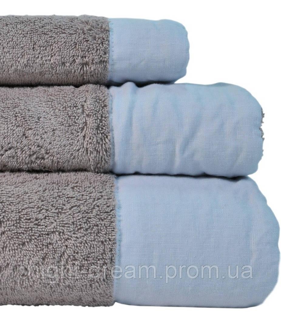 HAMPTON Casual Avenue полотенце 50х90 Warm Gray-Sky