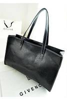 Оригинальная большая женская сумка на каждый день, черная