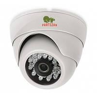 Купольная камера с ИК подсветкой Partizan CDM-333H-IR HD v3.0