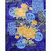 Плед велюровый Lotus Flower, 160х200см (цвета в ассортименте)