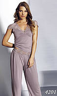 Пижама женская MARIPOSA майка с брюками (S, M. L, XL), 4201