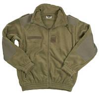 Куртка флисовая французкая олива  Mil-Tec Германия