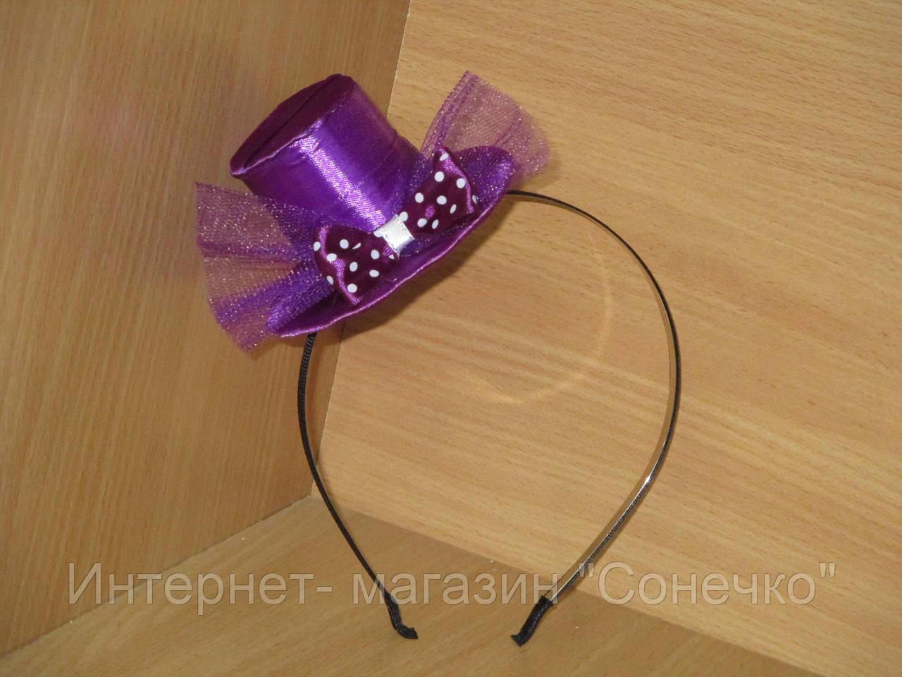 Шляпка цилиндр на ободке своими руками 61