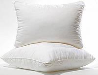 Подушка с наполнителем силиконовые шарики 40х60 см тик