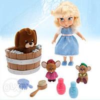 Анимационный набор кукла мини Золушка Дисней Disney Animators'