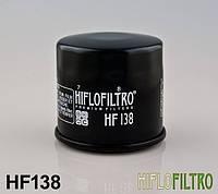 Масляный фильтр для мотоцикла Suzuki GSX-R , GSF , RF , SV , Intruder , DL , LTA , ( Hiflo Filtro HF138 )