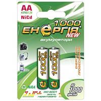 Аккумуляторная батарейка Энергия R06 1000 mAh