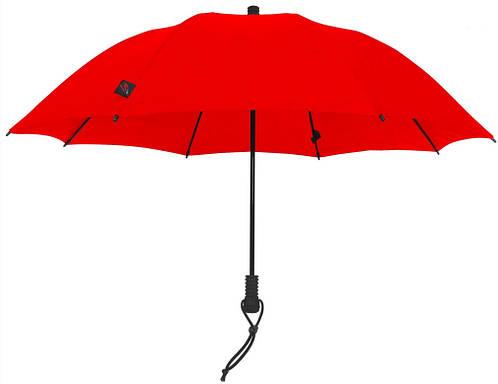 Надежный женский зонт-трость EuroSCHIRM Swing Flashlite W2F69027/SU13322 красный