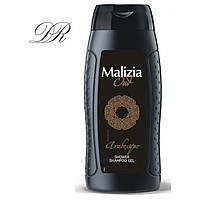 MALIZIA OUD - Шампунь/гель для душа 2в1 мужской ARABESQUE 250 мл