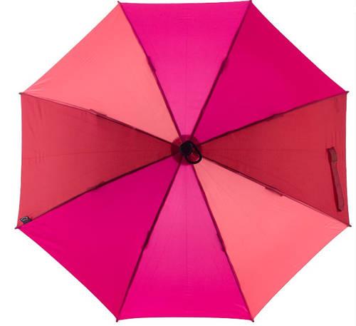 Привлекательный механический  зонт-трость EuroSCHIRM Swing W2U6-CW4/SU17685 розовый