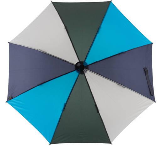 Эффектный механический  зонт-трость EuroSCHIRM Swing W2U6-CW6/SU17685 голубой