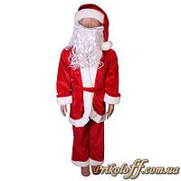 """Детский костюм """"Дед Мороз"""", с бородой"""