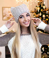 Зимняя женская шапка-кошка «Кэти» от производителя
