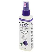 Crystal Essence Lavander & White Tea Spray, 118 ml (Кристалл Есенс Лаванада и белый чай Спрей).