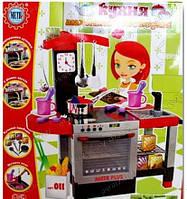 Детская кухня 011 плита духовка мойка, со звуковыми эффектами Подарок девочке малышке