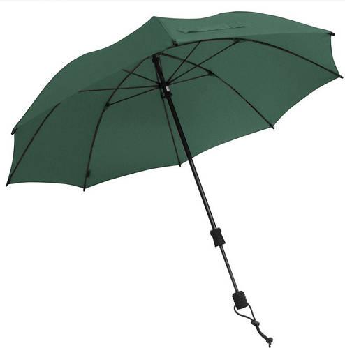 Качественный зонт-трость механика EuroSCHIRM Swing Handsfree W2H61040/SU17949 зеленый