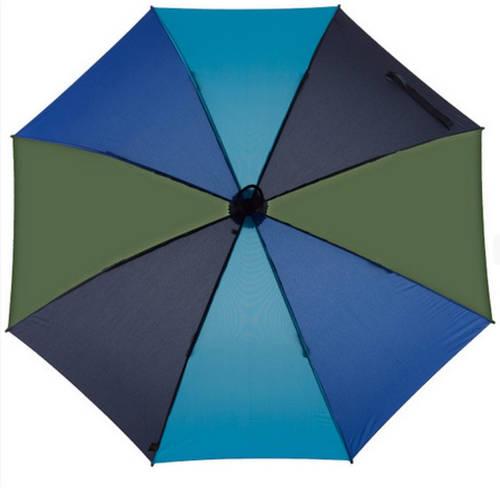 Прочный механический зонт-трость EuroSCHIRM Swing Handsfree W2H6-CW1/SU17686 синий