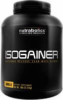 NutraBolics®ГейнерыNB Isogainer, 2,2 kg.Формула ускорения формирования сухой мышечной массы