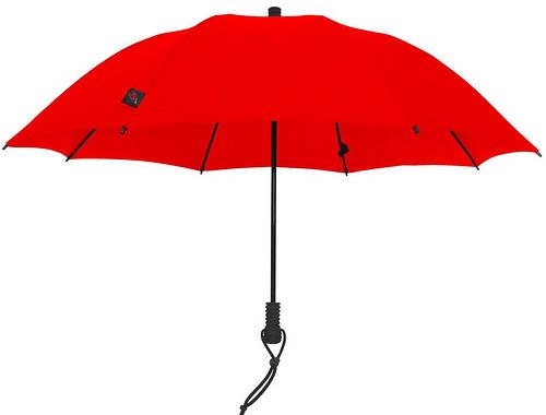 Женский симпатичный механический зонт-трость EuroSCHIRM Swing Liteflex W2L69027/SU17347 красный