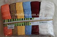 Набор лицевых  махровых полотенец ( 6шт)