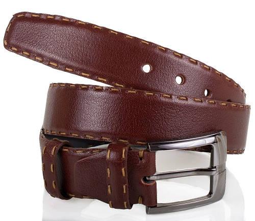 Классический мужской кожаный ремень MYKHAIL IKHTYAR (МИХАИЛ ИХТЯР) MI6403