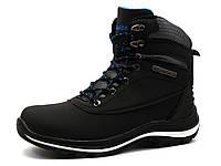 Кроссовки зимние Classica, высокие, унисекс, черные, фото 1