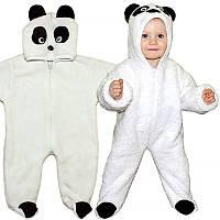 Новогодний костюм Панда. Размер 55 - 65 см
