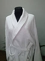 Махровый халат белый ХL Пакистан