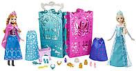 Большой подарочный набор Королевский гардероб и две куклы Эльза и Анна Холодное Сердце Дисней. Disney Frozen