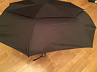 """Семейный зонт """"Президентский"""" в три сложения, купол 125 см Серебряный дождь с системой """"Air Flow"""""""