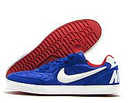Кеды мужские Nike синие (Найк)