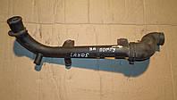 Трубка - патрубок системы охлаждения пластиковый Daewoo Lanos, Nubira, Chevrolet Lanos  96180035
