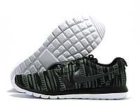 Кроссовки мужские Nike Roshe Run хаки зеленые(найк роше ран)