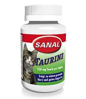 Sanal Taurine 60г/100шт -витамины для кошек  (SD6000) в таблетках
