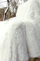 Плед из бамбуковых волокон белоснежный