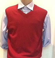 Классическая мужская безрукавка SAN&FA цвет бордо