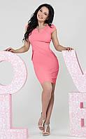Платье Силуэт лето (розовый)