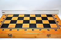 Шахматы, шашки, нарды набор настольных игр бф003
