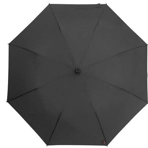 Мужской удобный механический зонт-трость с большим куполом EuroSCHIRM teleScope Handsfree 1H169120/SU17 черный