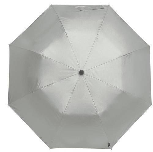 Оригинальный механический зонт-трость с большим куполом EuroSCHIRM teleScope Handsfree 1H16SI17/SU серебристый