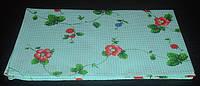 Полотенце цветное вафельное 45х70, набивное, Киев